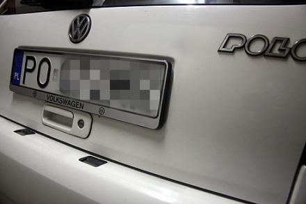 Polo III - nowe ramki pod tablice rejestracyjne